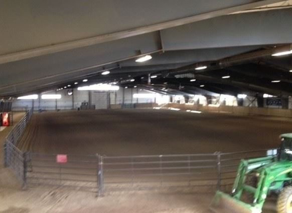 Another View of the Indoor Riding Arena