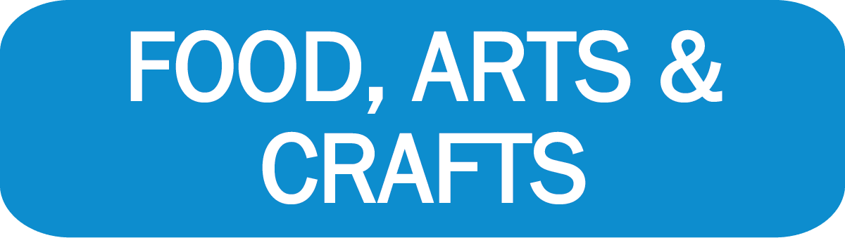 Food Arts Crafts Button